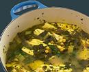 10 - פילה אמנון בתבשיל לימוני של מנגולד וגרגירי חומוס (צילום: נטע לויה)
