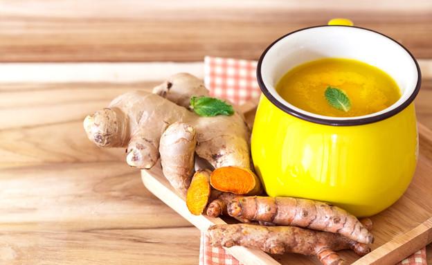 תה כורכום (צילום: Cozine, shutterstock)
