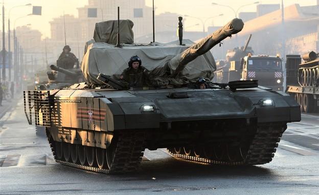 הטנק (צילום: VASILY MAXIMOV/AFP, GettyImages)