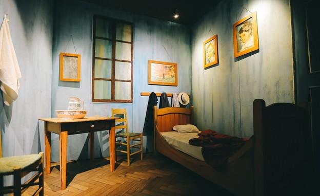 חדר שינה. תערוכת ואן גוך (צילום: Ivanov Christine)