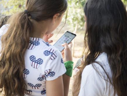 ניווט ביער בן שמן בעזרת סמארטפון (צילום: חיים ורסנו)