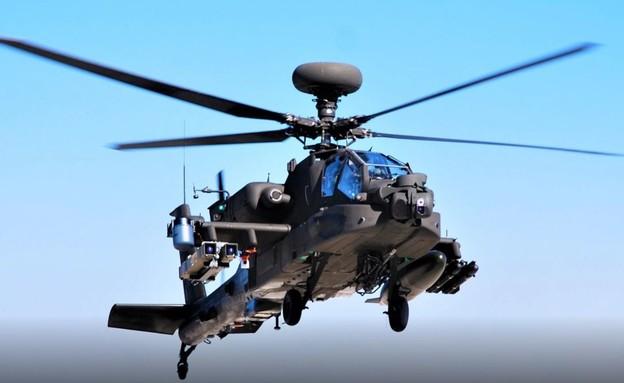 המסוק והטיל (צילום: U.S. Air Force)
