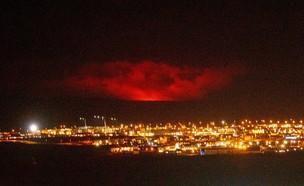 הר הגעש באיסלנד התפרץ
