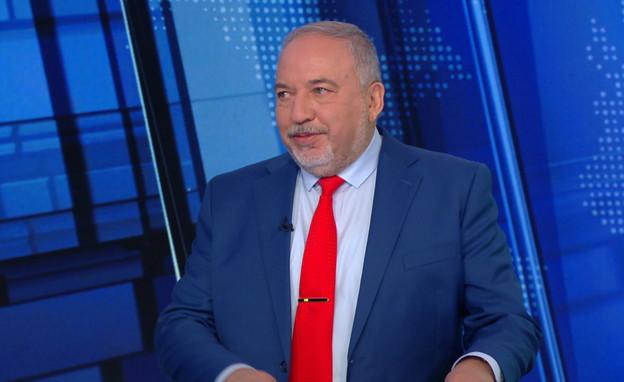 אביגדור ליברמן (צילום: חדשות 12)