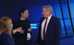 ניצן הורוביץ ומרב מיכאלי (צילום: חדשות 12)