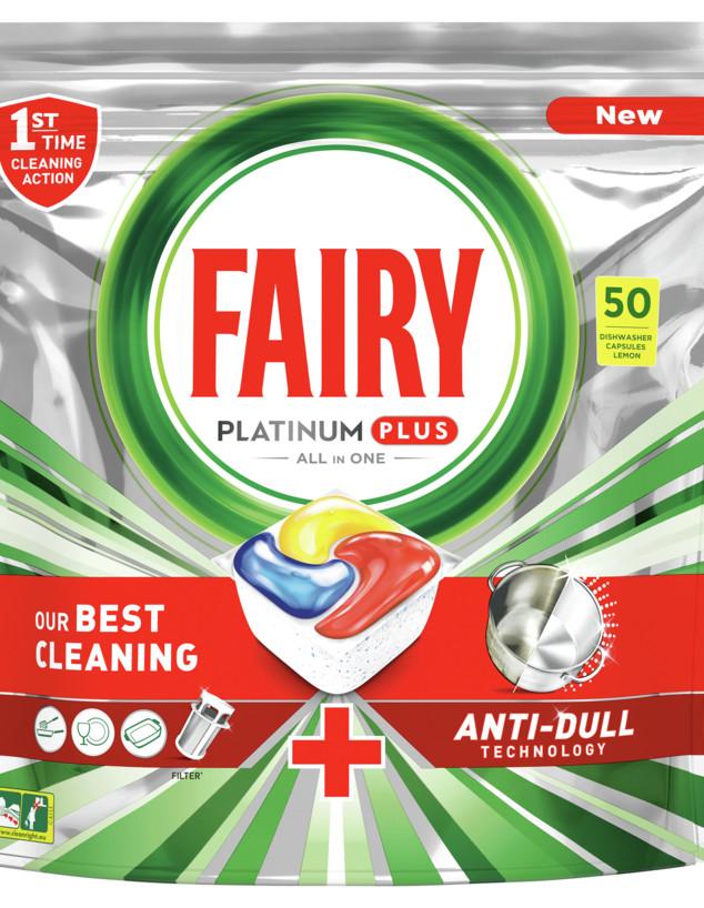 חומרי ניקוי לפסח, Fairy Platinum Plus (צילום: יחצ)