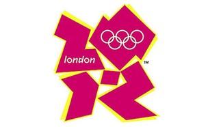 לוגו אולימפיאדת לונדון (עיצוב: Wolff Olins)