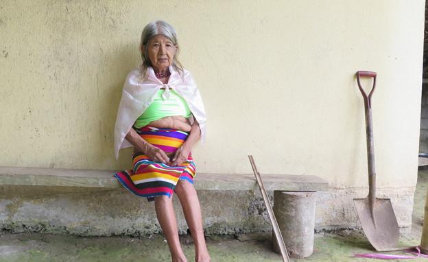 שבט הסצ'ילה באקוודור (צילום: noon)