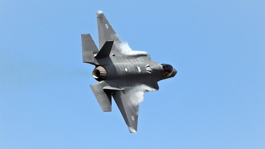 מטוס חיל האוויר הזר (צילום: Scott Barbour, GettyImages)