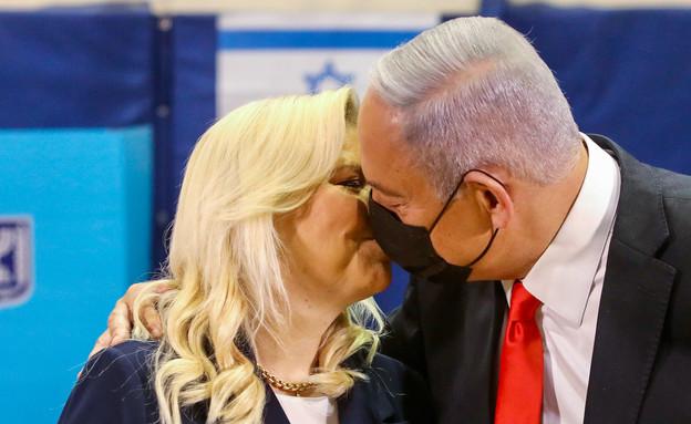 ראש הממשלה בנימין נתניהו בקלפי (צילום: מרק ישראל סלם, פלאש 90)