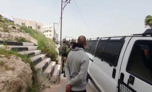 מעצר, פלסטינים, נשק גנוב