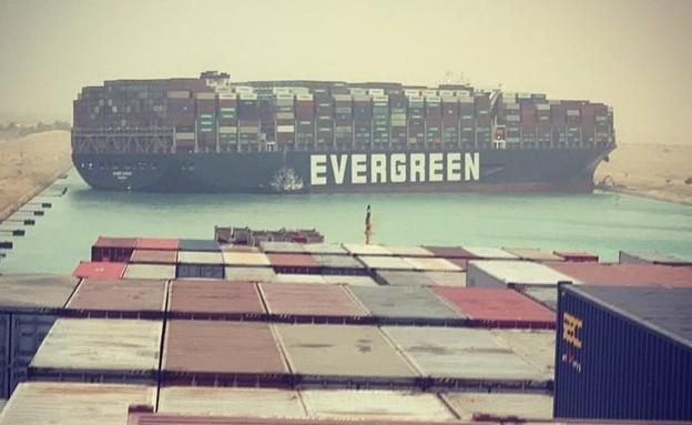 ספינת משא, תעלת סואץ, ספינה