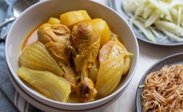"""סופריטו עם שומר ותפוחי אדמה (צילום: עידית נרקיס כ""""ץ, אוכל טוב)"""