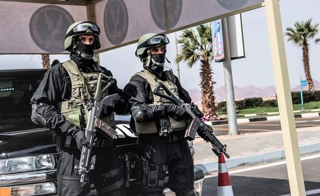 כוח מצרי מיוחד (צילום: KHALED DESOUKI/AFP, GettyImages)