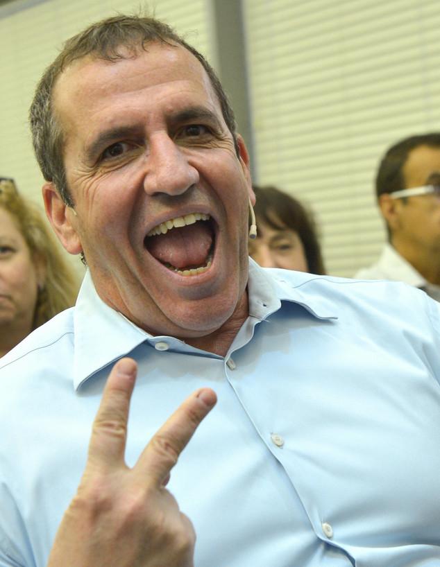 איל וולדמן, נשיא מלאנוקס, במסיבת עיתונאים בתל אביב (צילום: פלאש 90)
