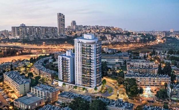 סביוני קטמון החדשה ירושלים (צילום: אפריקה ישראל מגורים )
