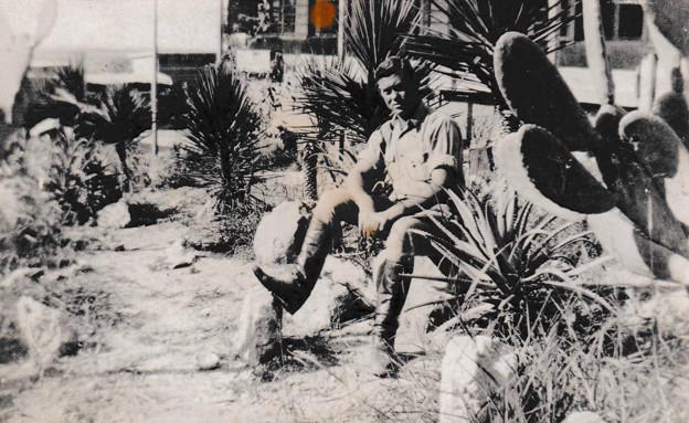 זלמן רוזנבוים, השומר העברי שנפל כשניסה להציל את חב (צילום: באדיבות המשפחה)
