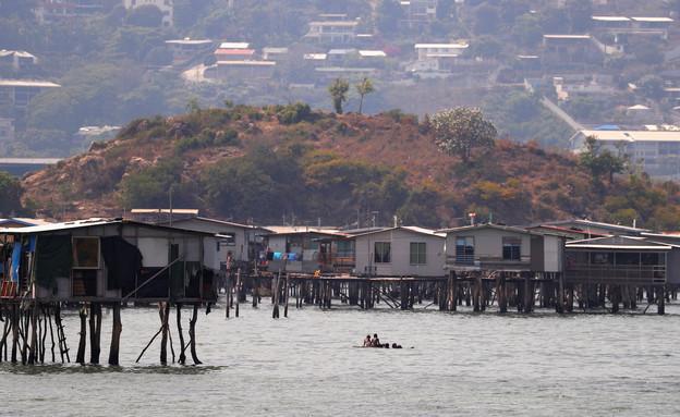 המאבק בקורונה בפפואה ניו גינאה (צילום: reuters)