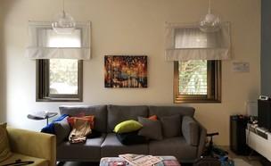 בית במושב בשרון, עיצוב ליאת הדס, לפני שיפוץ (צילום: ליאת הדס)