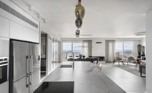 דירה בנתניה, עיצוב הלל אדריכלות (צילום: עודד סמדר)