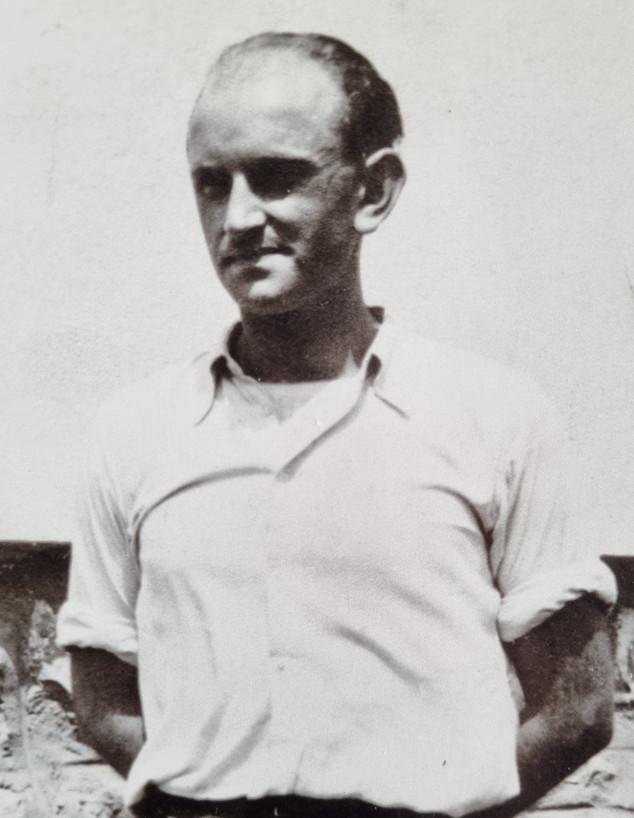 הפרטיזאן היהודי סלובאקי, טיבור אונגר אשר נהרג תוך