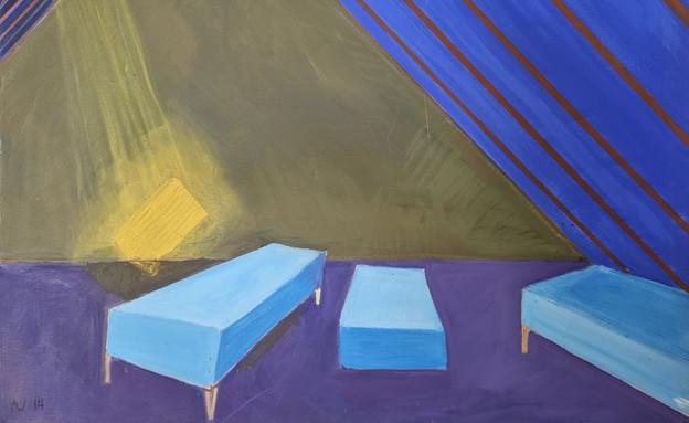 ציור של עליית הגג בסבאטי מיקולאש