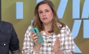 """האזינו: שיחת הטלפון מהנוכלים שהתקשרו לפאולה (צילום: מתוך """"פאולה וליאון"""", קשת 12)"""