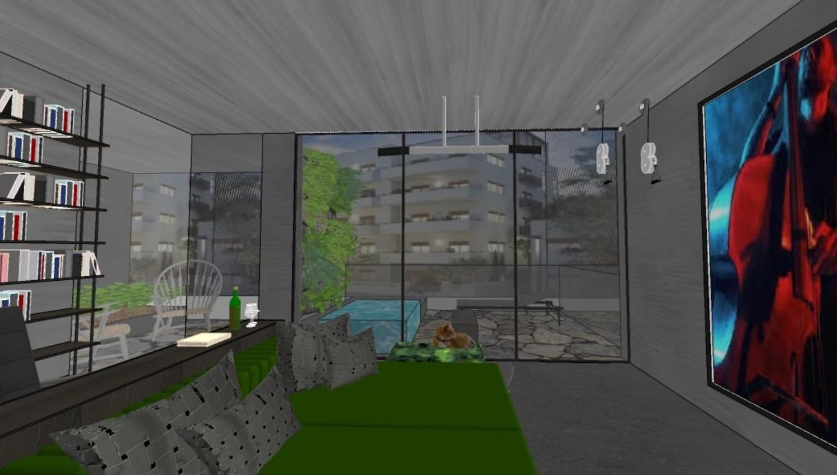 דירת חלומות, תכנון אדריכלית נורית בן יוסף - 5