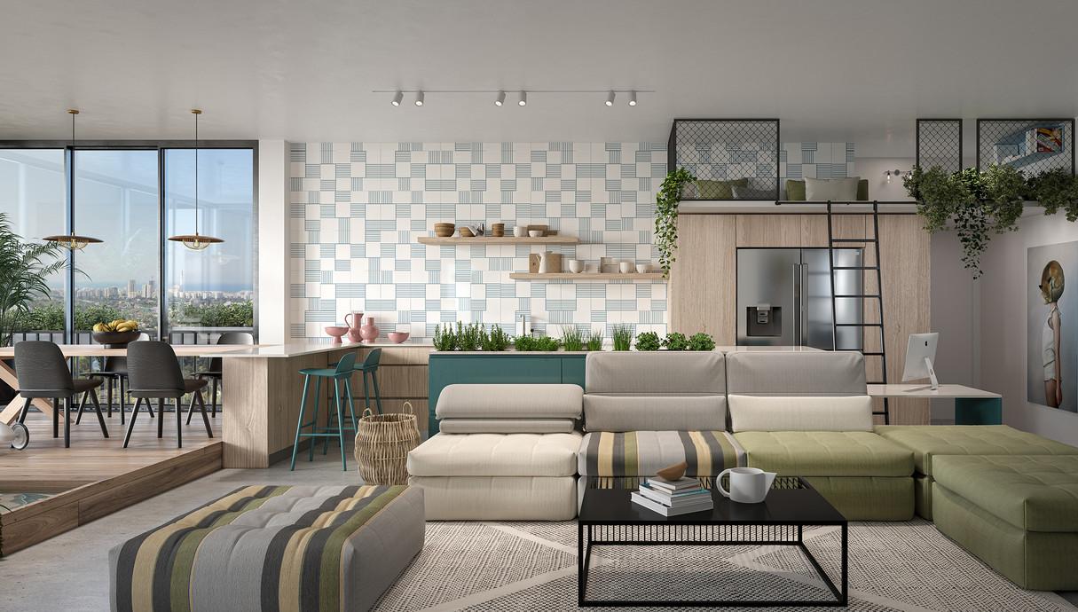 דירת חלומות, תכנון מעצב הפנים רועי זליחובסקי