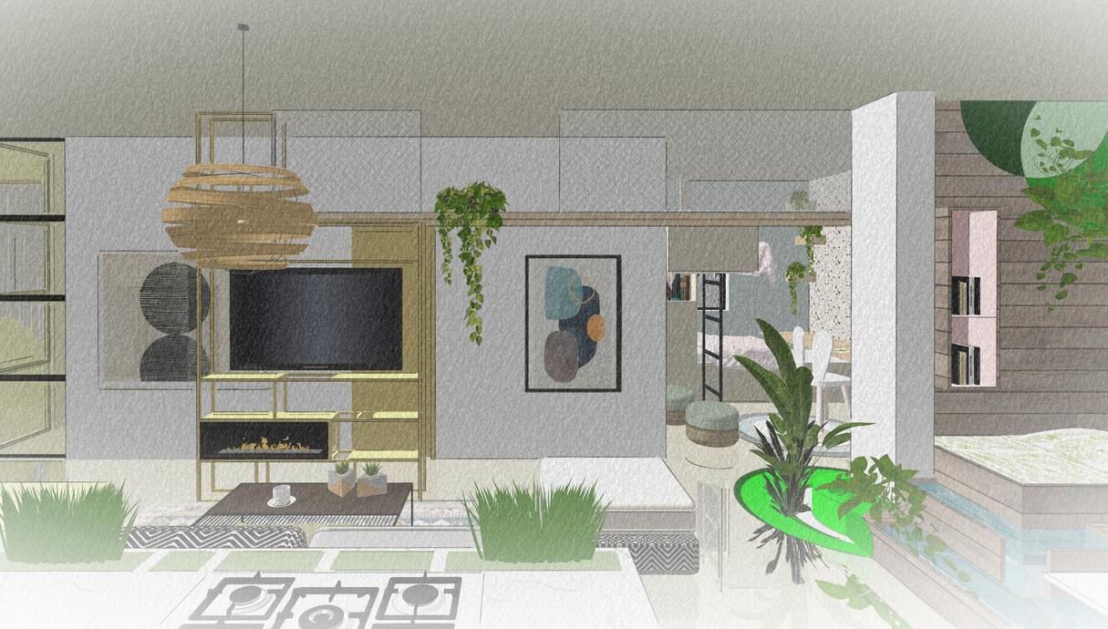 דירת חלומות, תכנון מעצב הפנים רועי זליחובסקי - 1