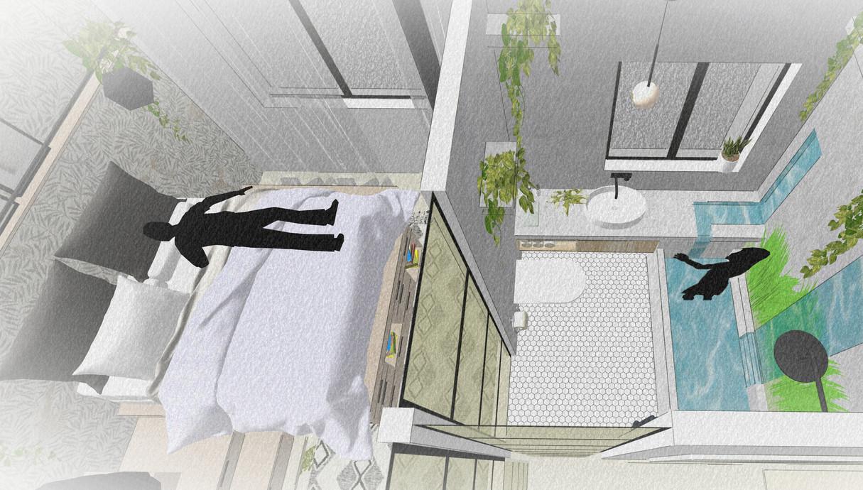 דירת חלומות, תכנון מעצב הפנים רועי זליחובסקי - 4