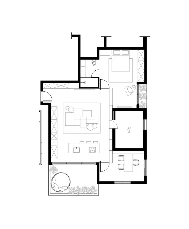 דירת חלומות, ג, תכנון אדריכלית מרין פרי אלי