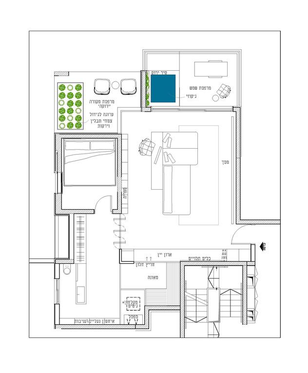 דירת חלומות, ג, תכנון אדריכלית נורית בן יוסף