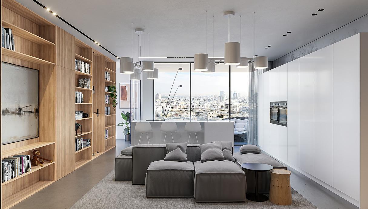 דירת חלומות, תכנון אדריכלית מרין פרי אלי - 1