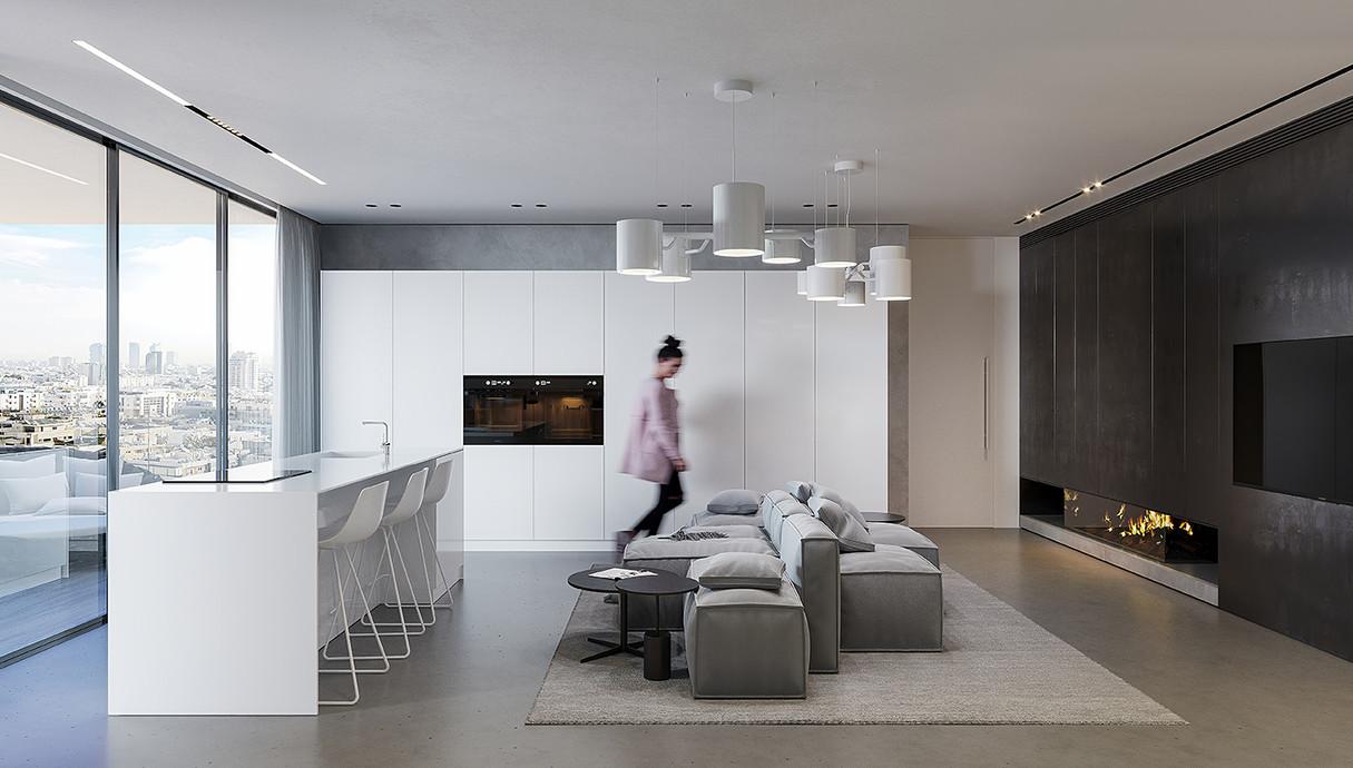 דירת חלומות, תכנון אדריכלית מרין פרי אלי - 4