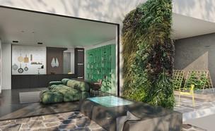 דירת חלומות, תכנון אדריכלית נורית בן יוסף (הדמיה: BENYO 3D)