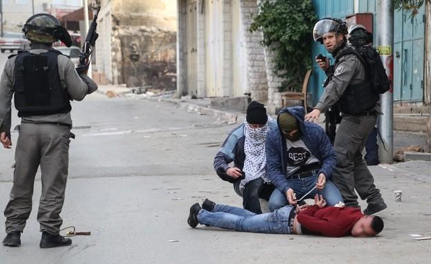 """היחידה בפעולה (צילום: מג""""ב, דוברות משטרת ישראל)"""