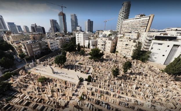 בית עלמין טרומפלדור בתל אביב (צילום: יוחאי הלל)