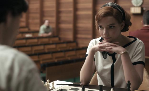 """מתוך """"גמביט המלכה"""" (צילום: Ken Woroner/Netflix)"""
