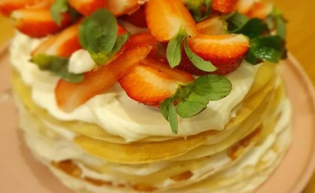 עוגת הקרפים של גיא בימקה (צילום: צילום פרטי)
