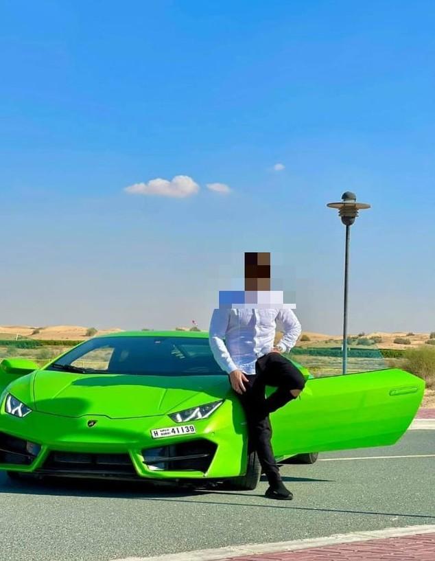 מכוניות יוקרה בדובאי (צילום: באדיבות המצולם)