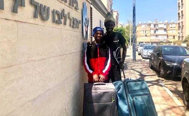 אמאדו ועומאר, הגיעו מגמביה לניתוח לב מציל חיים ביש