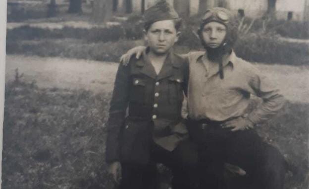 אברהם טאובר ניצול השואה בילדותו