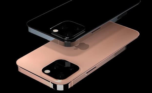 הדמיה של אייפון 13 (צילום: everythingapplepro/Youtube)