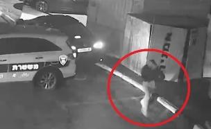 עבריין נעצר בדרך לחיסול (צילום: דוברות משטרת ישראל)