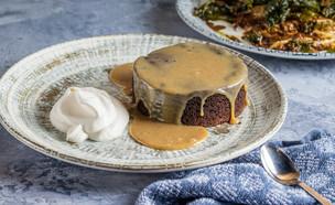 עוגת שוקולד וקפה -  איתיאלה היאט (צילום: נתנאל ישראל, מאסטר שף)