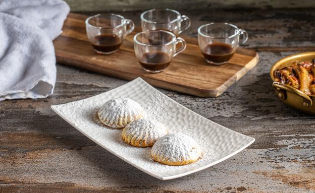 מעמול במילוי פיסטוקים וקפה - מנאל איסמעיל (צילום: נתנאל ישראל, מאסטר שף)