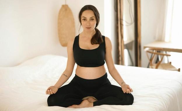 אנה ארונוב, שמירה על איזון (צילום: אינסטגרם)