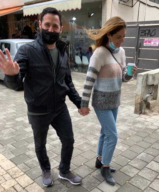 ניר פור והגר משה, פפראצי, אפריל 2021