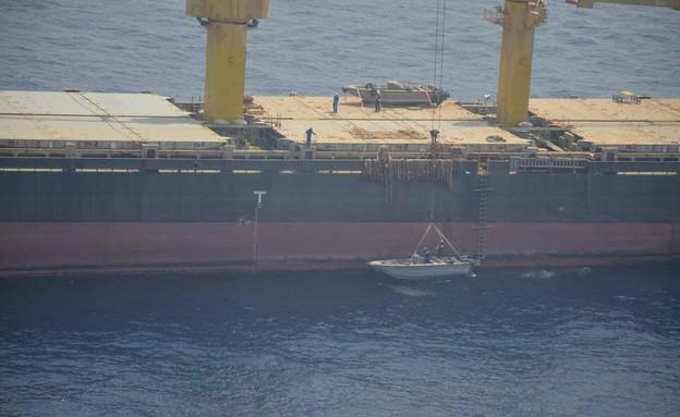 הספינה האירנית סאביז שהותקפה בים האדום